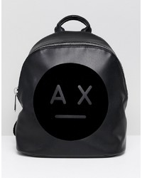Armani Exchange Ax Face Logo Backpack