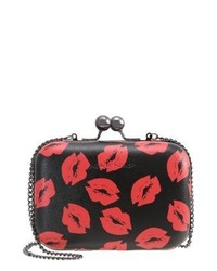 Lipstick clutch noir medium 4122933