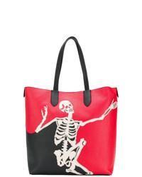 Alexander McQueen Dancing Skeleton Tote