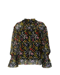 See by Chloe See By Chlo Floral High Neck Blouse