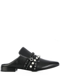 3.1 Phillip Lim Faux Pearl Strappy Mules