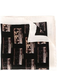 Paul Smith Boombox Printed Pocket Square