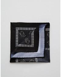 Asos Brand Pocket Square With Paisley Print