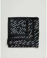 Asos Pocket Square With Line Print