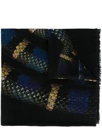 Marcelo Burlon County of Milan Colorados Snake Graphic Scarf