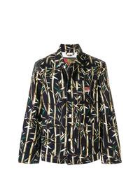 Kenzo Bamboo Print Meto Jacket