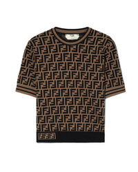 Fendi Jacquard Knit Sweater