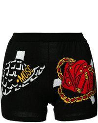 Moschino Knitted Paper Doll Shorts