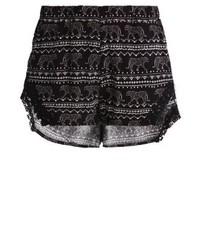 Even&Odd Shorts Blackwhite