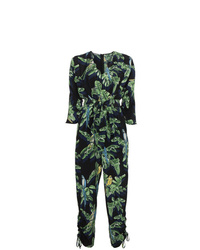 Stella McCartney Silk Parrot Print Jumpsuit
