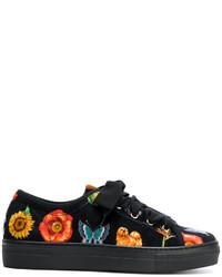 Etro Mixed Prints Sneakers