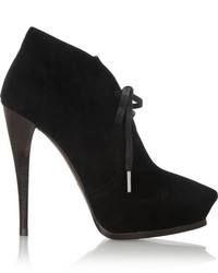 Suede lace up ankle boots medium 8250
