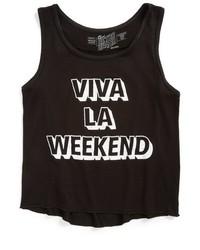 Original Retro Brand Retro Brand Viva La Weekend Graphic Tank