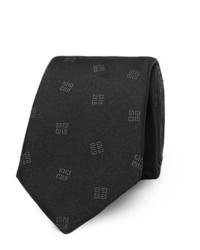 Givenchy 7cm Logo Jacquard Silk Twill Tie