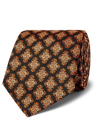 Kingsman Turnbull Asser Rocketman 8cm Silk Jacquard Tie