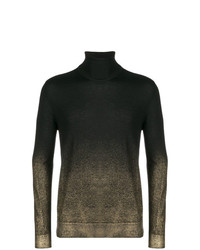 Versace Collection Sprayed Detail Jumper
