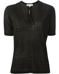Stella McCartney Crocodile Skin Print T Shirt