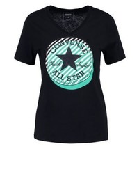 Converse Print T Shirt Black