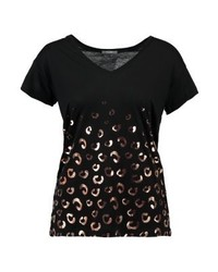 KIOMI Print T Shirt Black