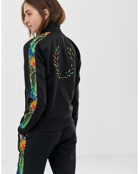 Fred Perry X Liberty Print Sports Jacket