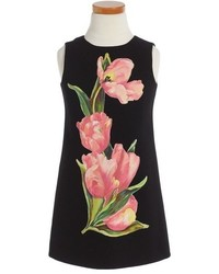 Dolce & Gabbana Toddler Girls Dolcegabbana Tulip Print Sleeveless Dress