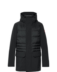 Canada Goose Breton Tri Durance Hooded Down Coat