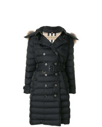 Burberry Detachable Hood Down Filled Puffer Coat