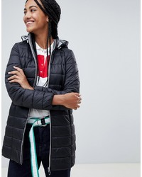 Esprit Hooded Mid Padded Jacket
