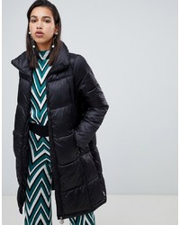Vero Moda Longline Padded Jacket With Ring Pull