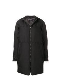Salvatore Ferragamo Padded Fitted Coat