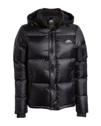 Black puffer jacket original 10162863