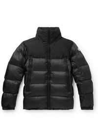Moncler Faiveley Slim Fit Quilted Shell Down Jacket