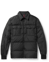 Moncler Gruss Slim Fit Quilted Shell Down Shirt Jacket