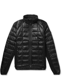 Canada Goose Hybridge Slim Fit Packable Quilted Shell And Stretch Jersey Down Jacket