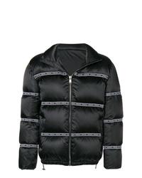 Versace Logo Padded Jacket