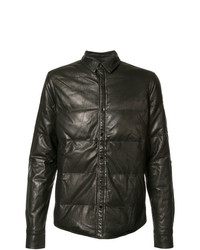 Private Stock Padded Effect Jacket Black