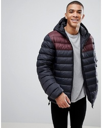 French Connection Padded Hooded Jacket With