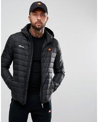 Ellesse Padded Jacket With Hood In Black
