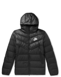Nike Quilted Shell Hooded Down Jacket