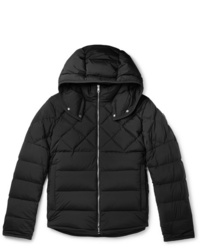 Moncler Quilted Shell Hooded Down Jacket