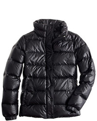 J.Crew Shiny Puffer Down Jacket