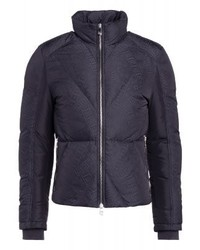 Versace Verde Scuro Down Jacket Nero