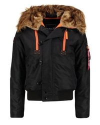 Winter jacket blackorange medium 4209953