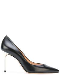 Maison Margiela Contrast Heel Stiletto Pumps