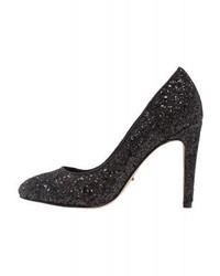 Only Onlpina Classic Heels Black Glitter