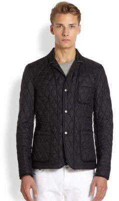 Burberry Brit Howe Quilted Jacket | Where to buy & how to wear : how to wear quilted jacket - Adamdwight.com