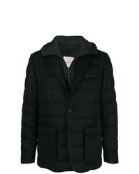 Moncler Hooded Padded Blazer