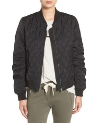 Sincerely jules quilted bomber jacket medium 806146