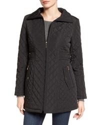Gallery Side Tab Quilted Coat