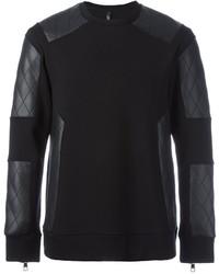 Quilted panel sweatshirt medium 819922